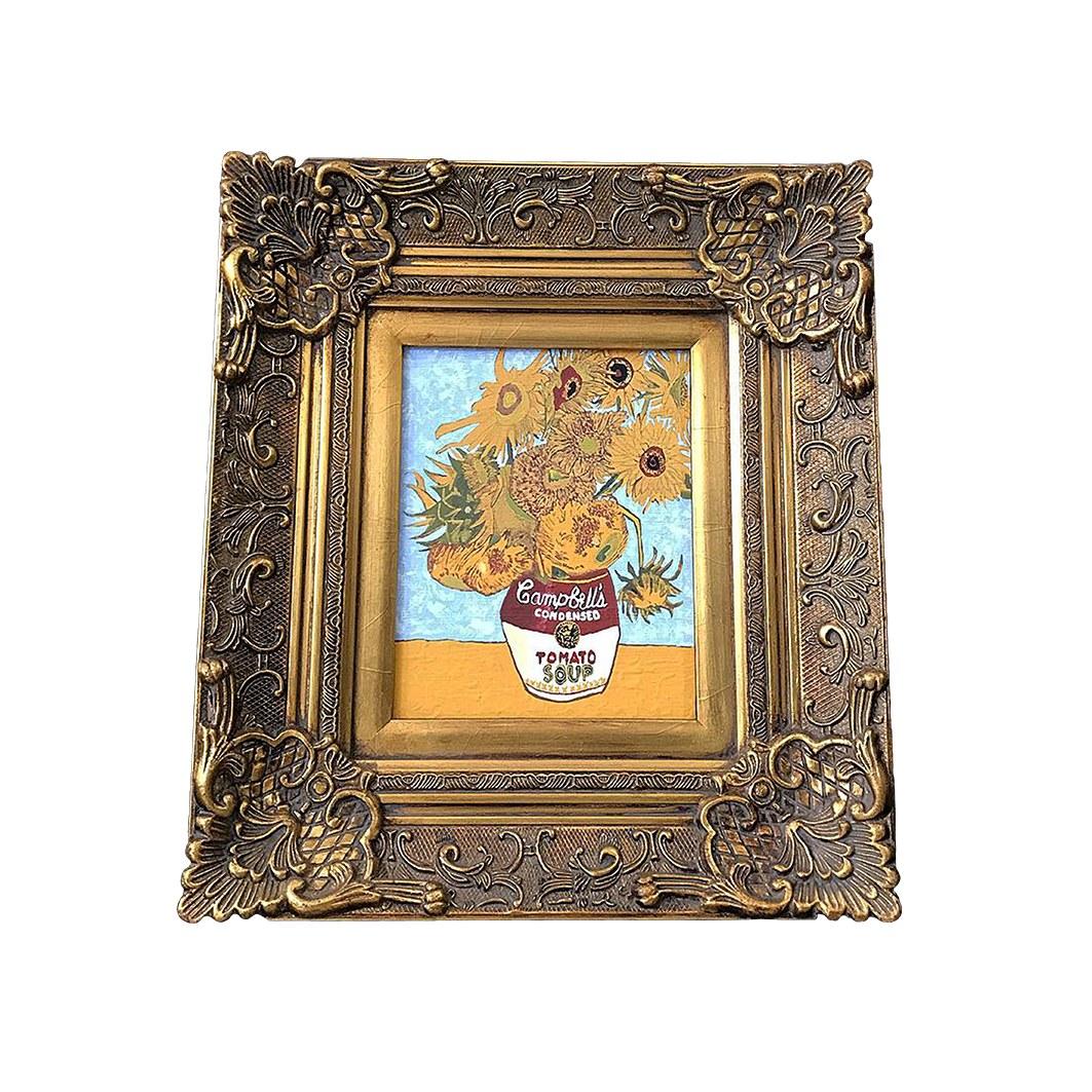 Diego Venturino - Barattolo con dodici girasoli - Art