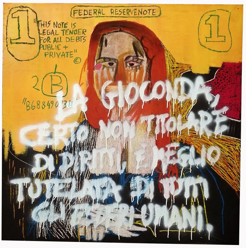 Diego Venturino - Gioconda tutelata - Art