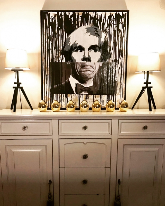 Diego Venturino - Warhol Obama