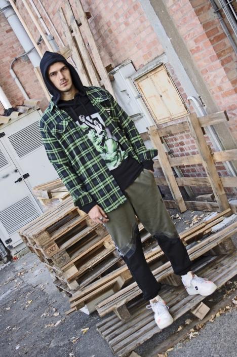 Diego Venturino Collezione F-W 19 uomo streetwear