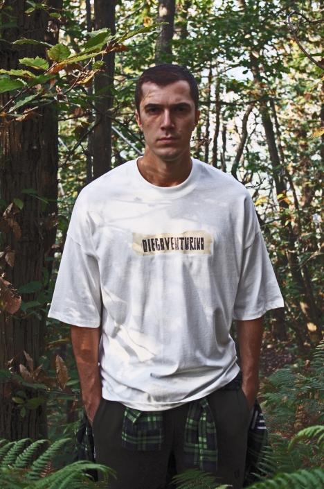 Diego Venturino Collezione F-W 19 uomo tshirt