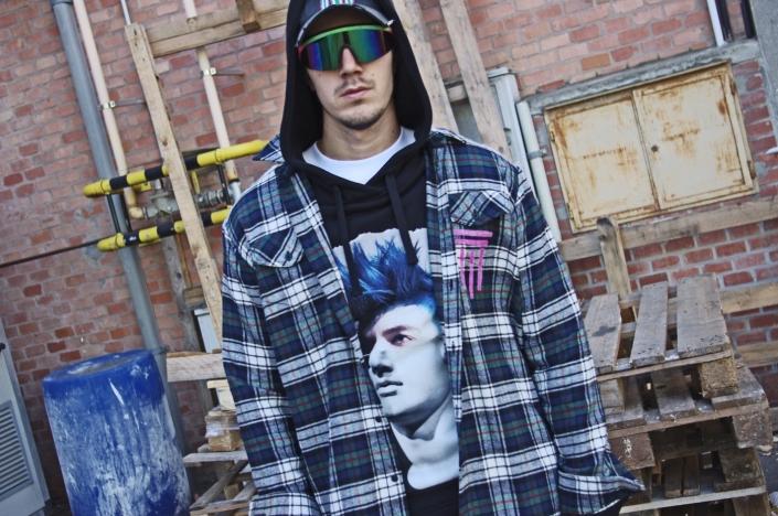 Diego Venturino Collezione F-W 19 camicia uomo