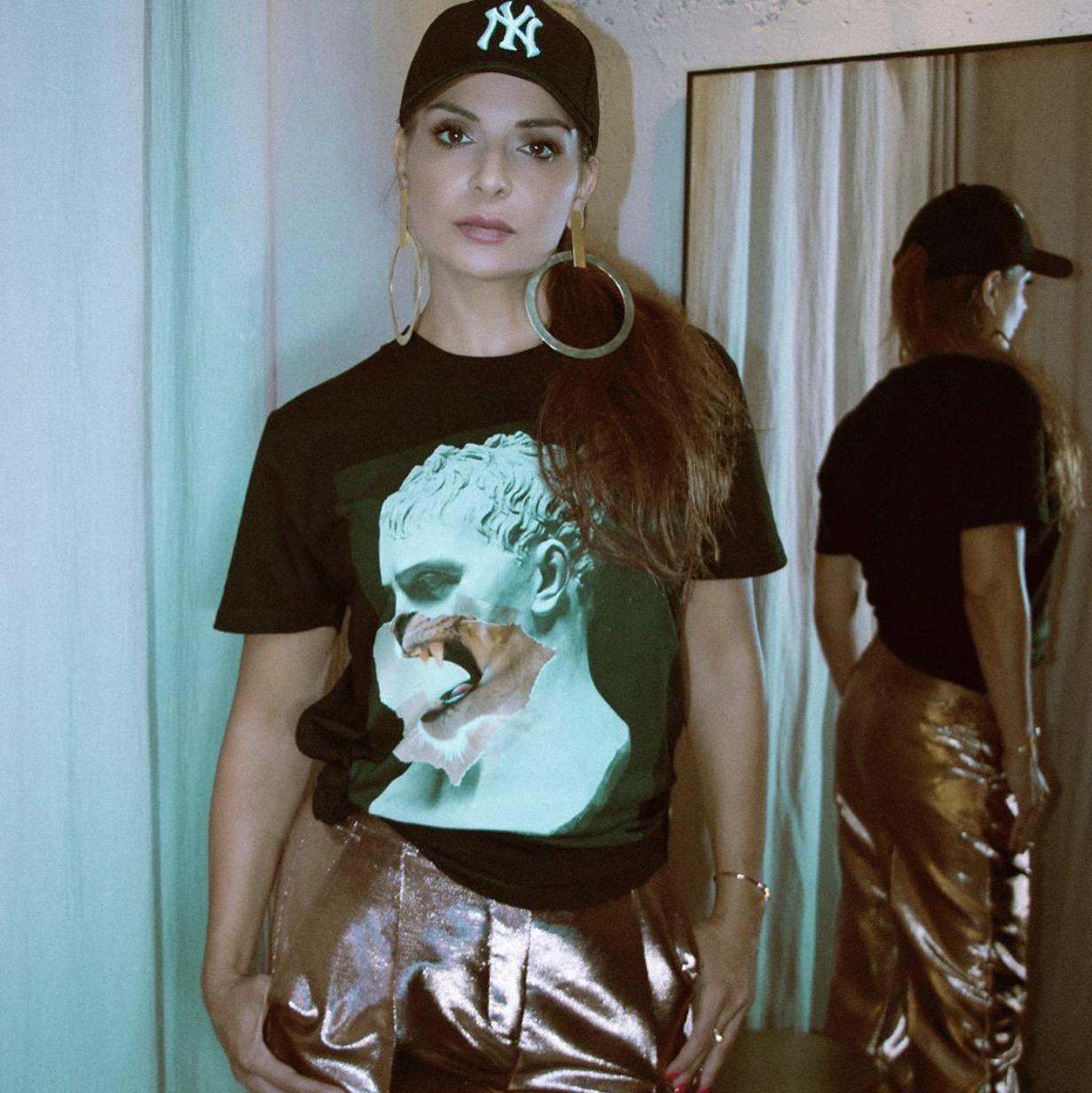 HILDA KHALIFE wears Puma Napoleon - Diego Venturino