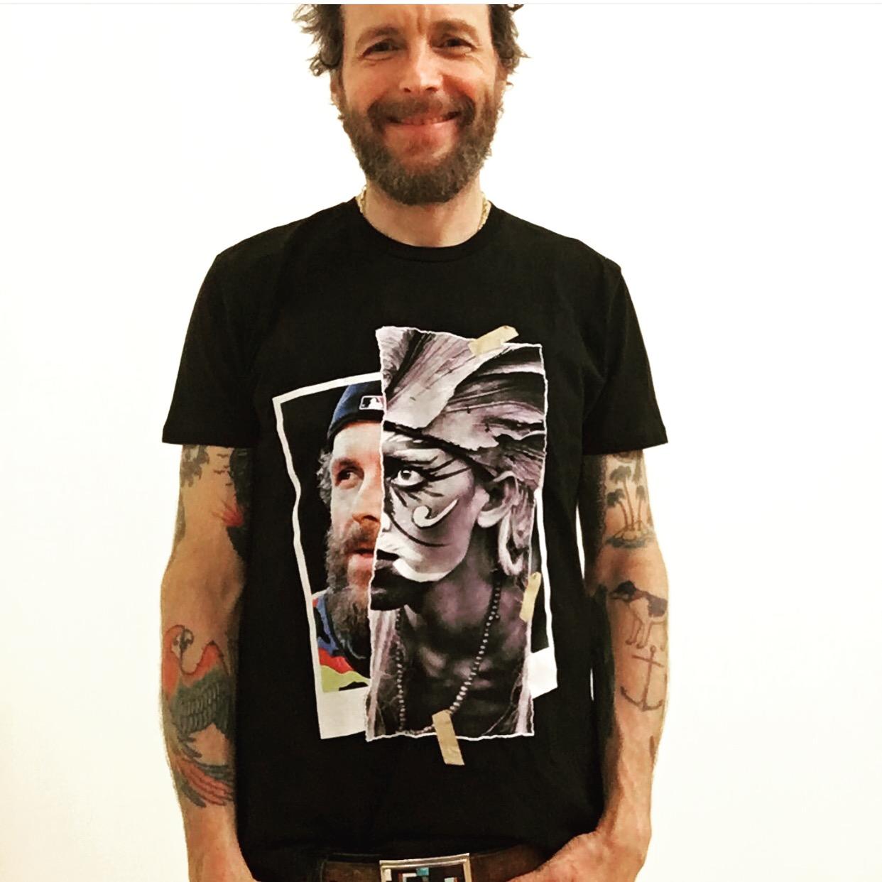 JOVA wears Jova Maori - Tshirt Diego Venturino